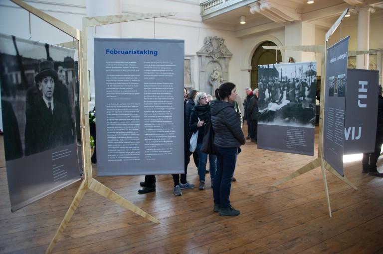 Tentoonstelling in Mozes en Aäronkerk Foto: Hans Mooren