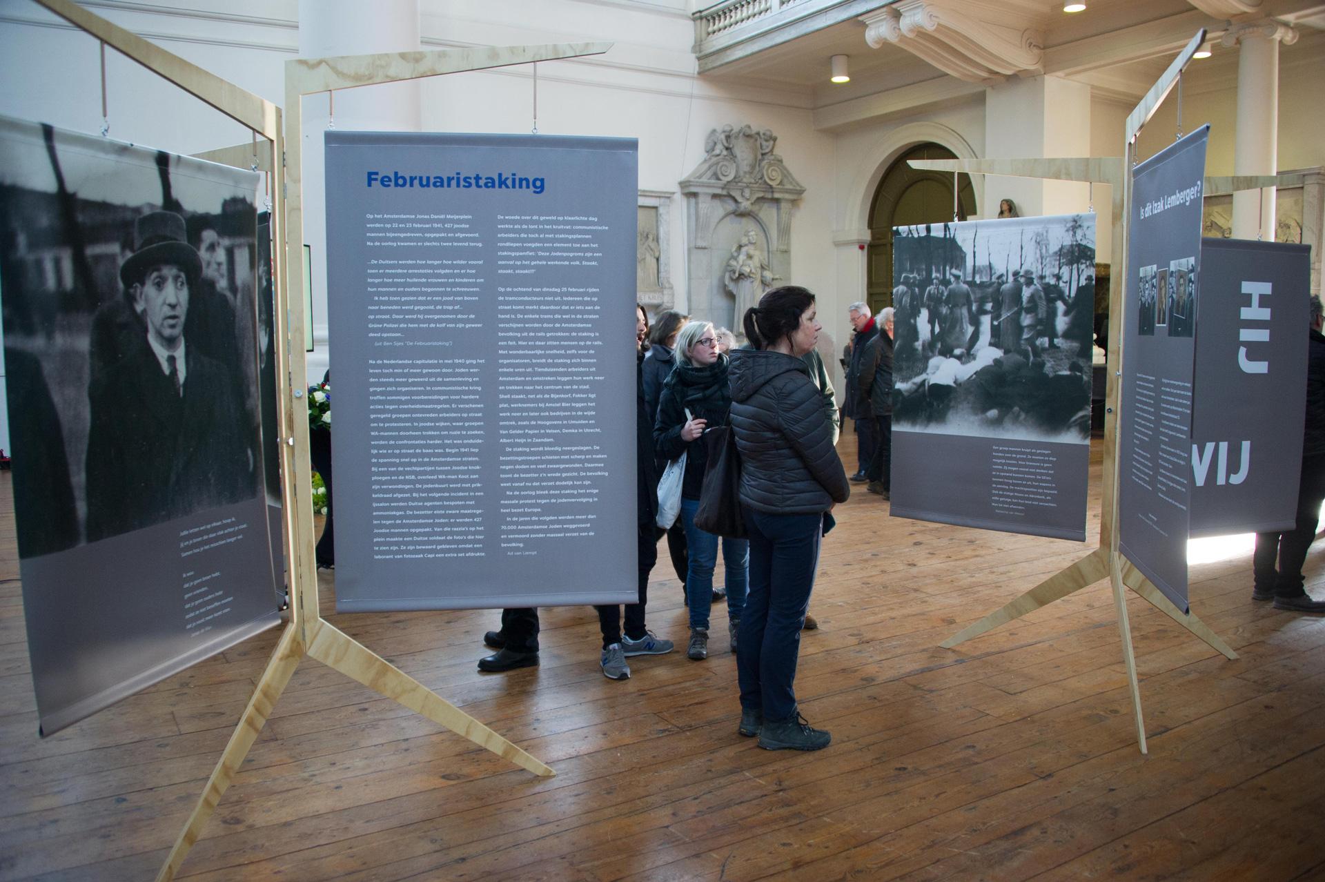 Fototentoonstelling in de Mozes en Aaronkerk - Foto: Hans Mooren