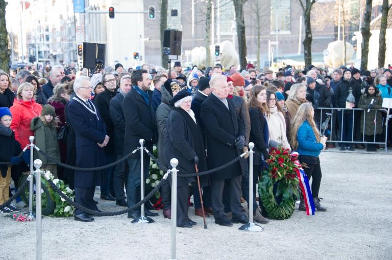 Defilé herdenking Februaristaking 2018 Foto: Hans Mooren