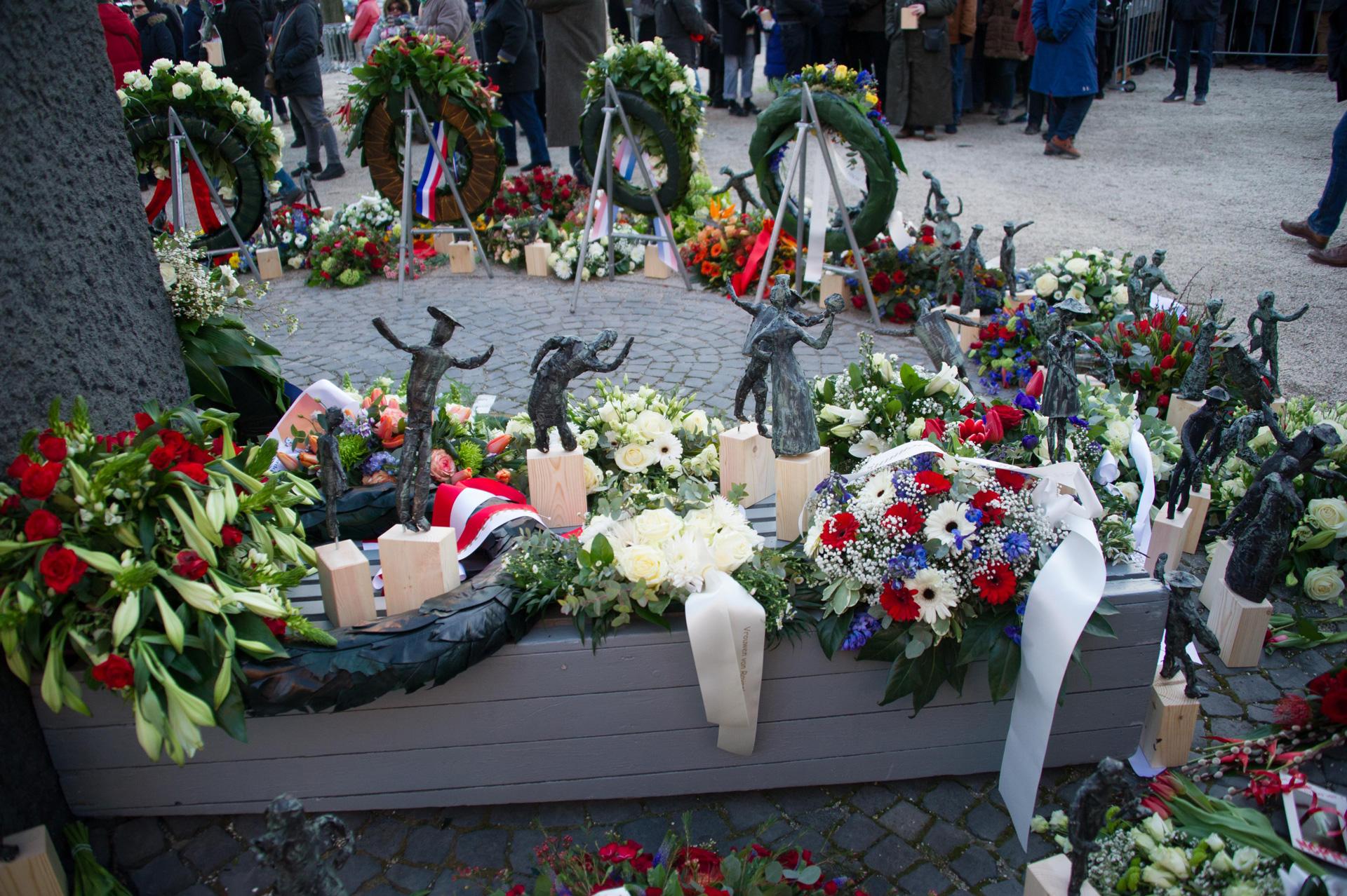 Bloemen met Dokwerkertjes Foto: Hans Mooren