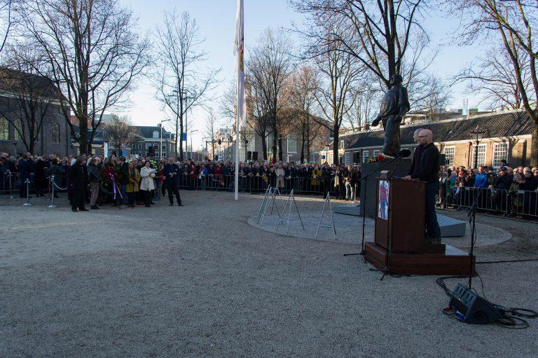 Toespraak voorzitters Jaïr Stranders en Thijs Middeldorp - foto: Hans Mooren