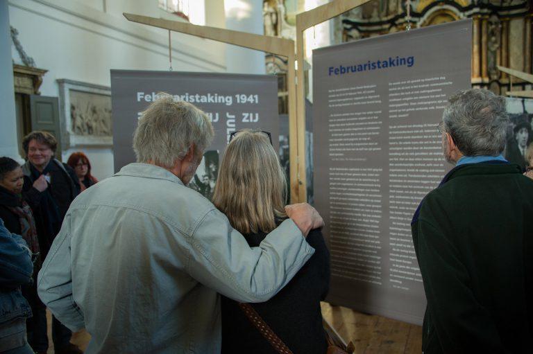 Tentoonstelling Mozes en Aäronkerk – foto Hans Mooren