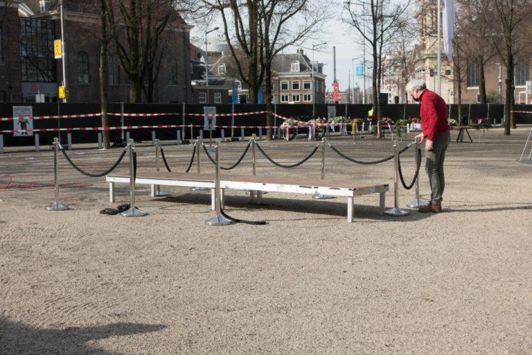 voorbereidingen - foto Hans Mooren