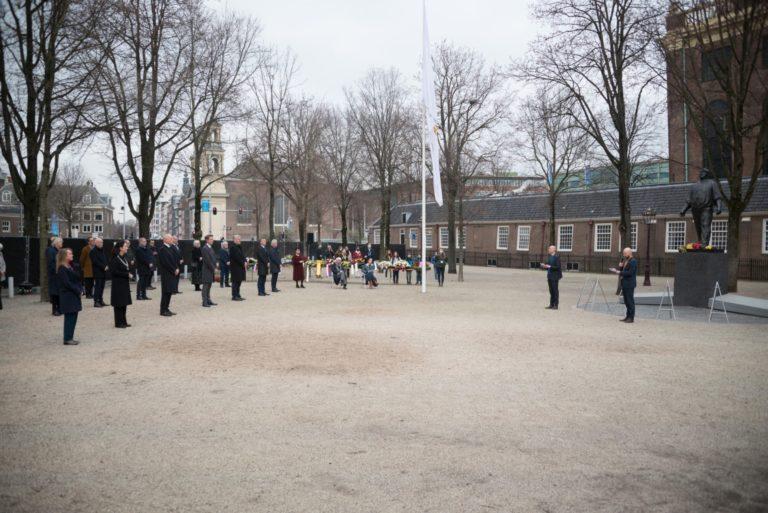 Voorzitters spreken - foto Hans Mooren