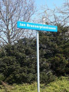 Straatnaambord Jan Brasserplantsoen